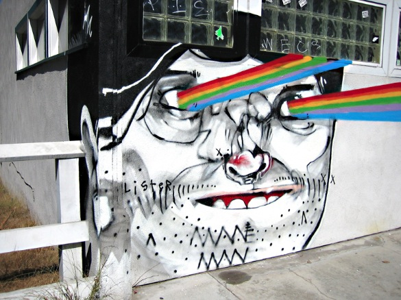 anthony lister street art australia skate savagethrills savage thrills
