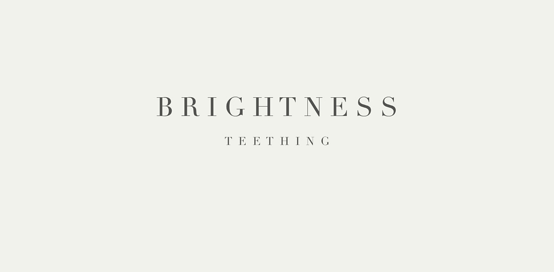 bightness teething album art music ablum review savage thrills savagethrills