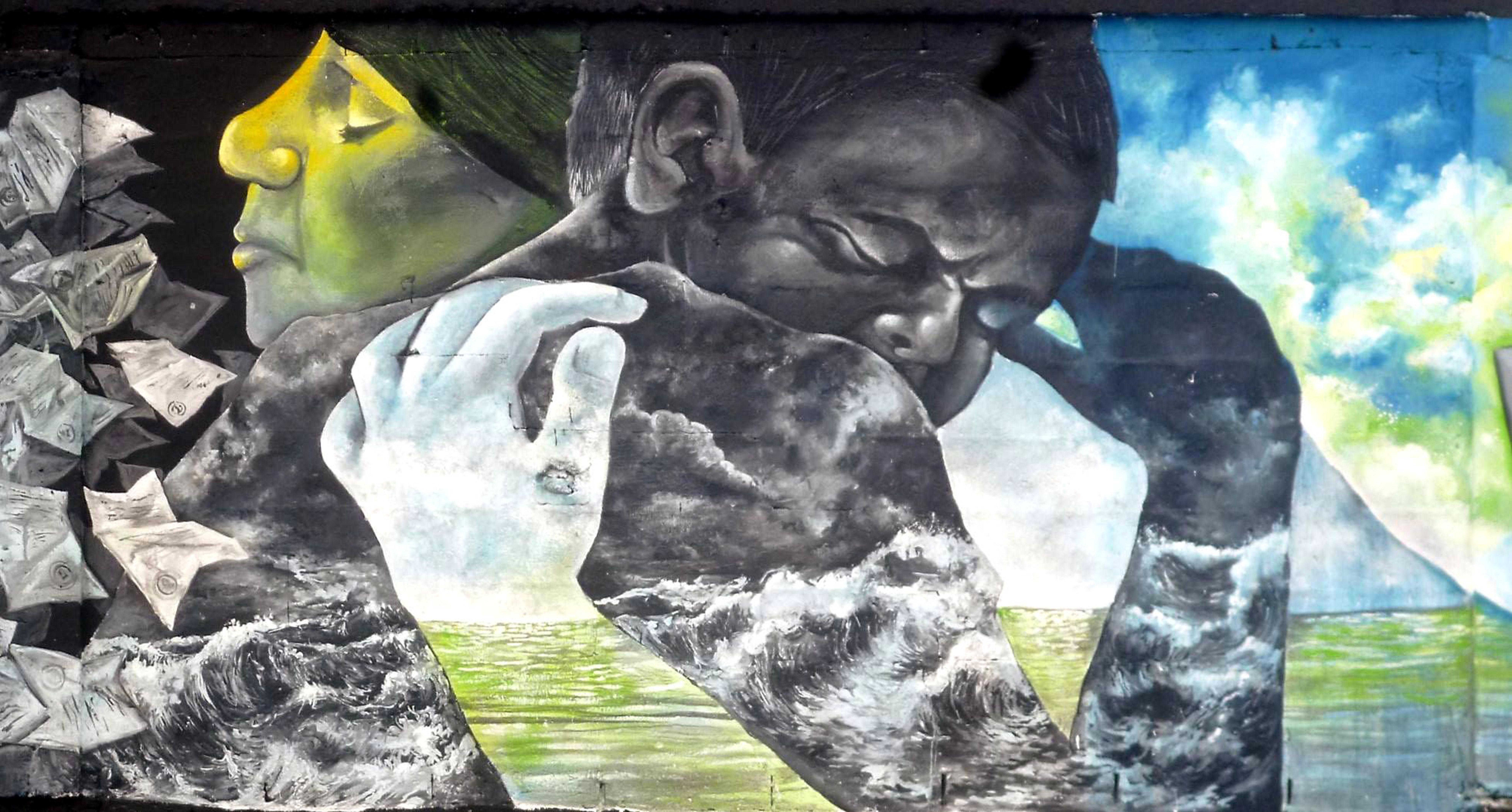Street Artist Martanoemi Notes From Panama Savage Thrills # Muebles Mayoral