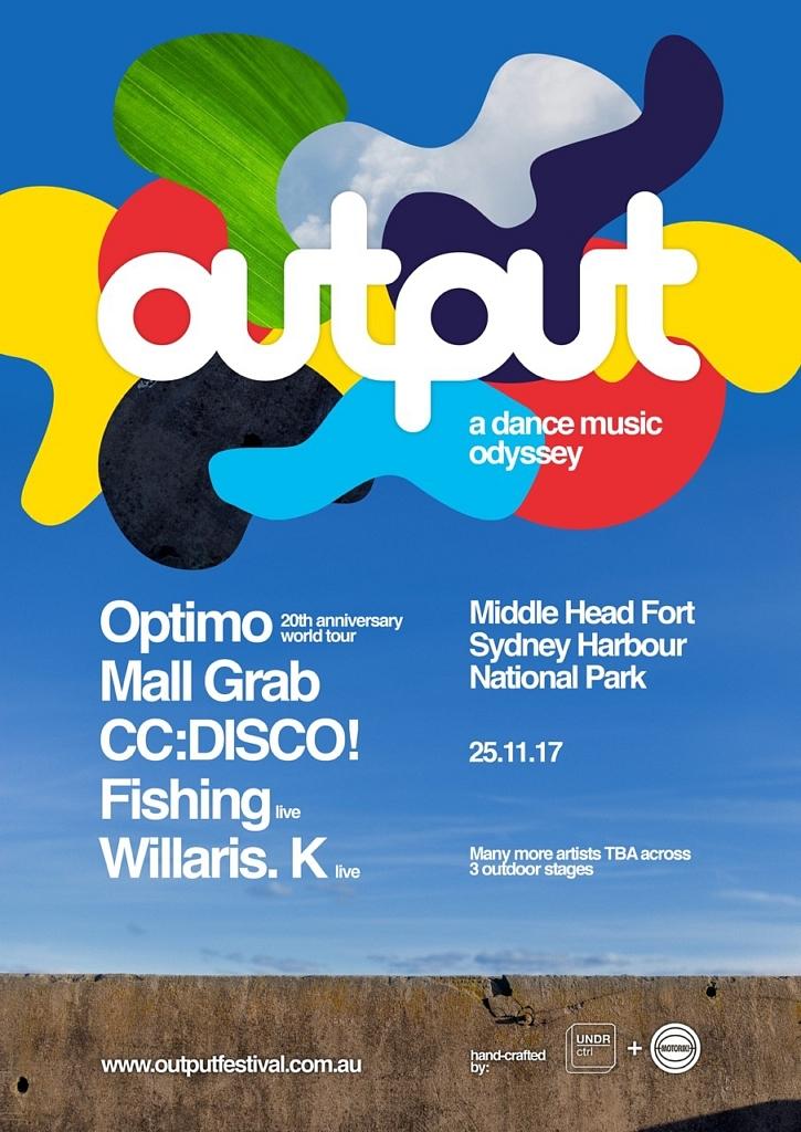 output poster 2017 australian music festivals savage thrills savagethrills