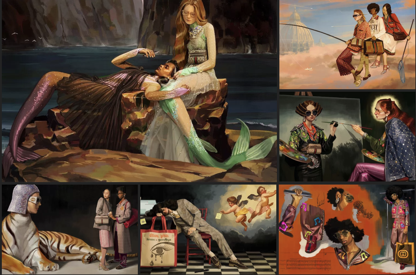 a2733605 Gucci Hallucination is another example of the brand's ode to art ...