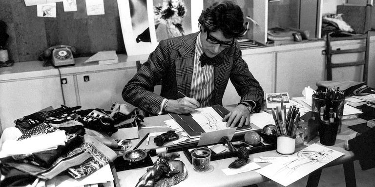 575ffb77 Paris museum to show Yves Saint Laurent's sketches from his youth ...
